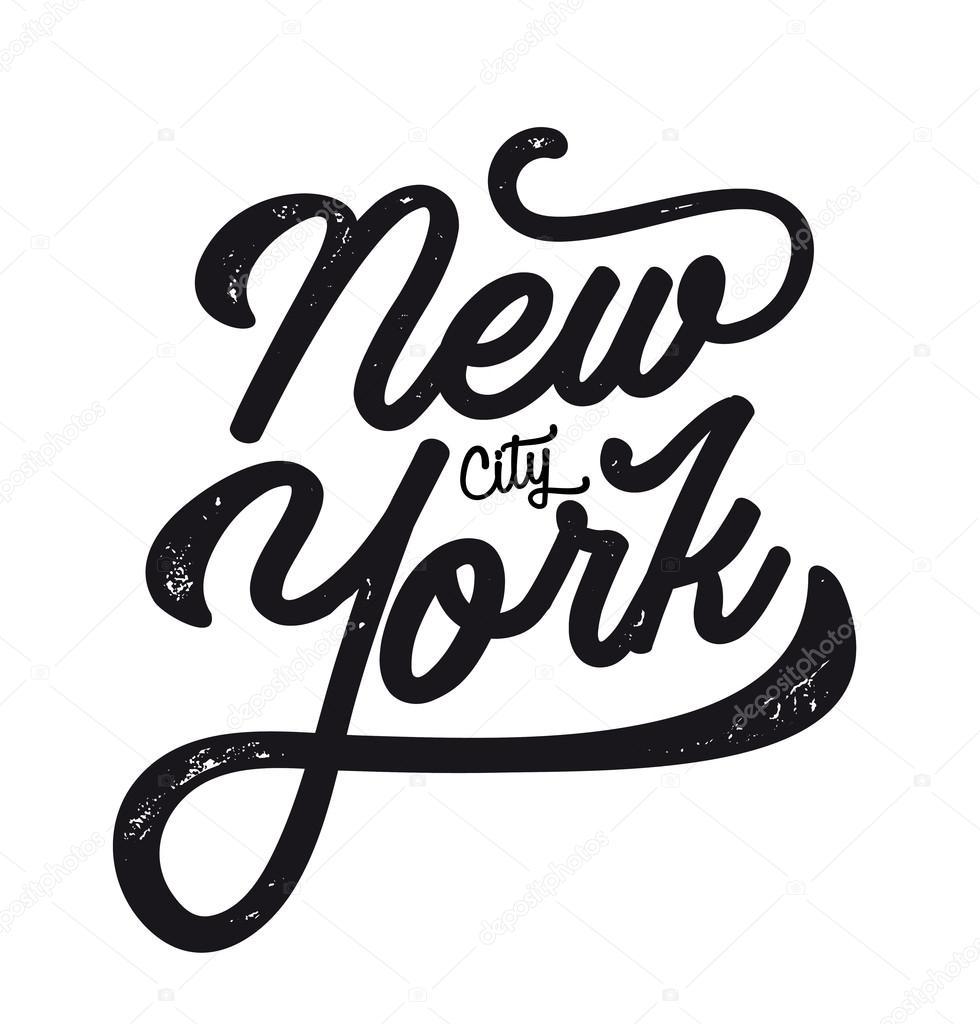 ニューヨーク市のロゴ ストックベクター yellowpixel 125061818