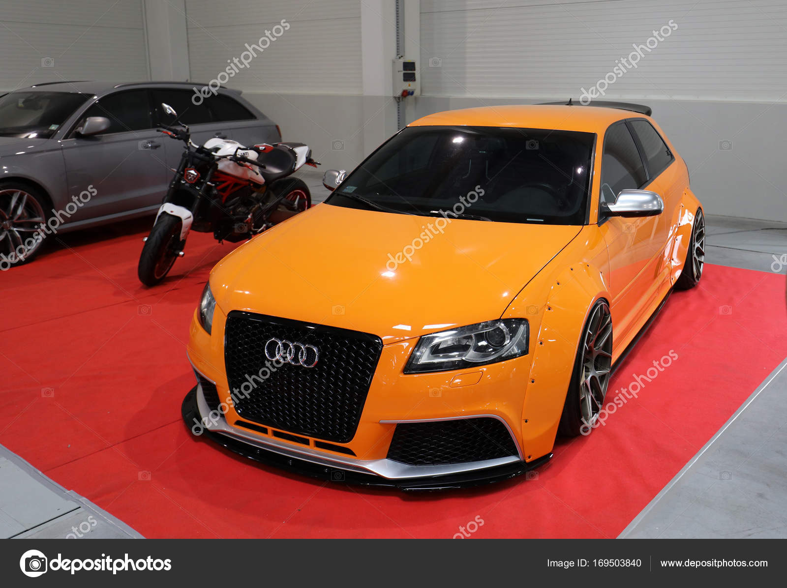 Engine Tuning Audi Displayed At 3rd Edition Of Moto Show In Krakow