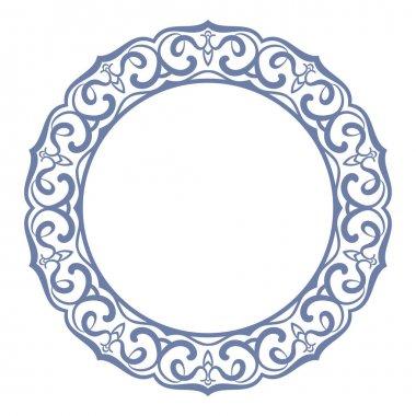 Circular ornament design elements