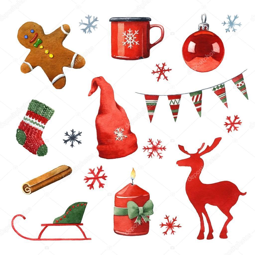 aquarell weihnachten clipart stockfoto jara3000 130350244. Black Bedroom Furniture Sets. Home Design Ideas