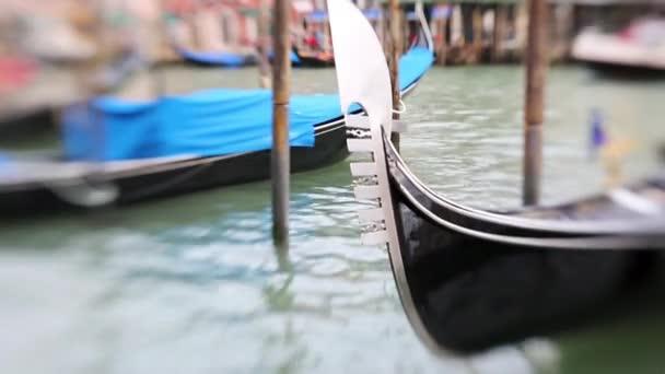 Benátky s gondolami