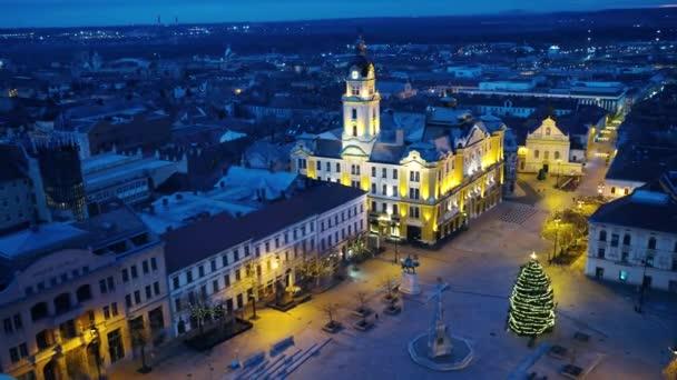 Letecké video z Pecs, Maďarsko