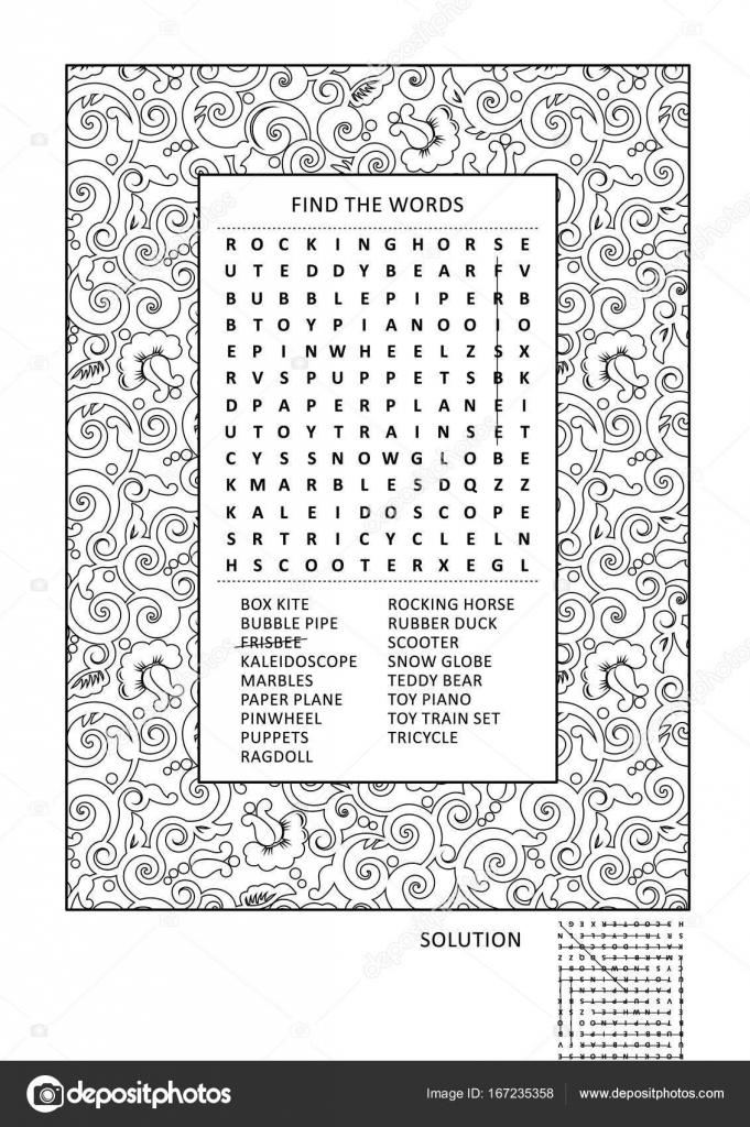 Puzzel En Activiteitenpagina Kleurplaten Voor Volwassenen