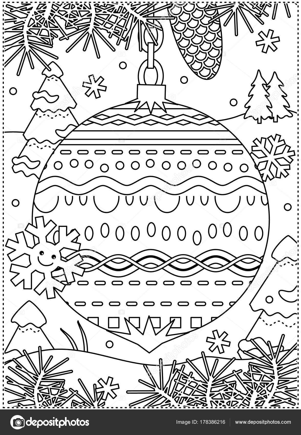 Imágenes: happy winter holidays para colorear | Página Para Colorear ...