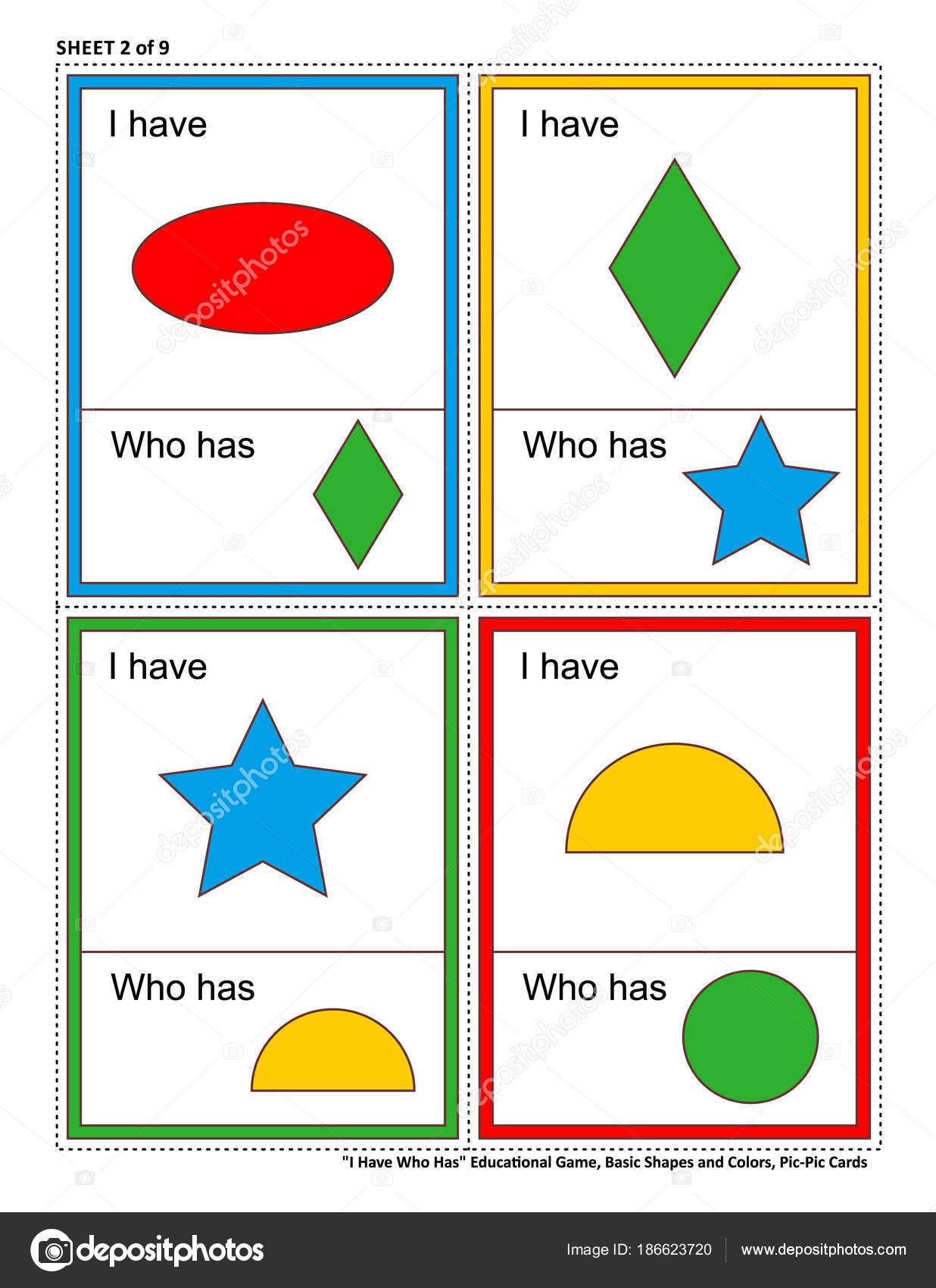 Pädagogische Mathe Spiele Für Kinder Ich Habe Hat Blatt Von ...