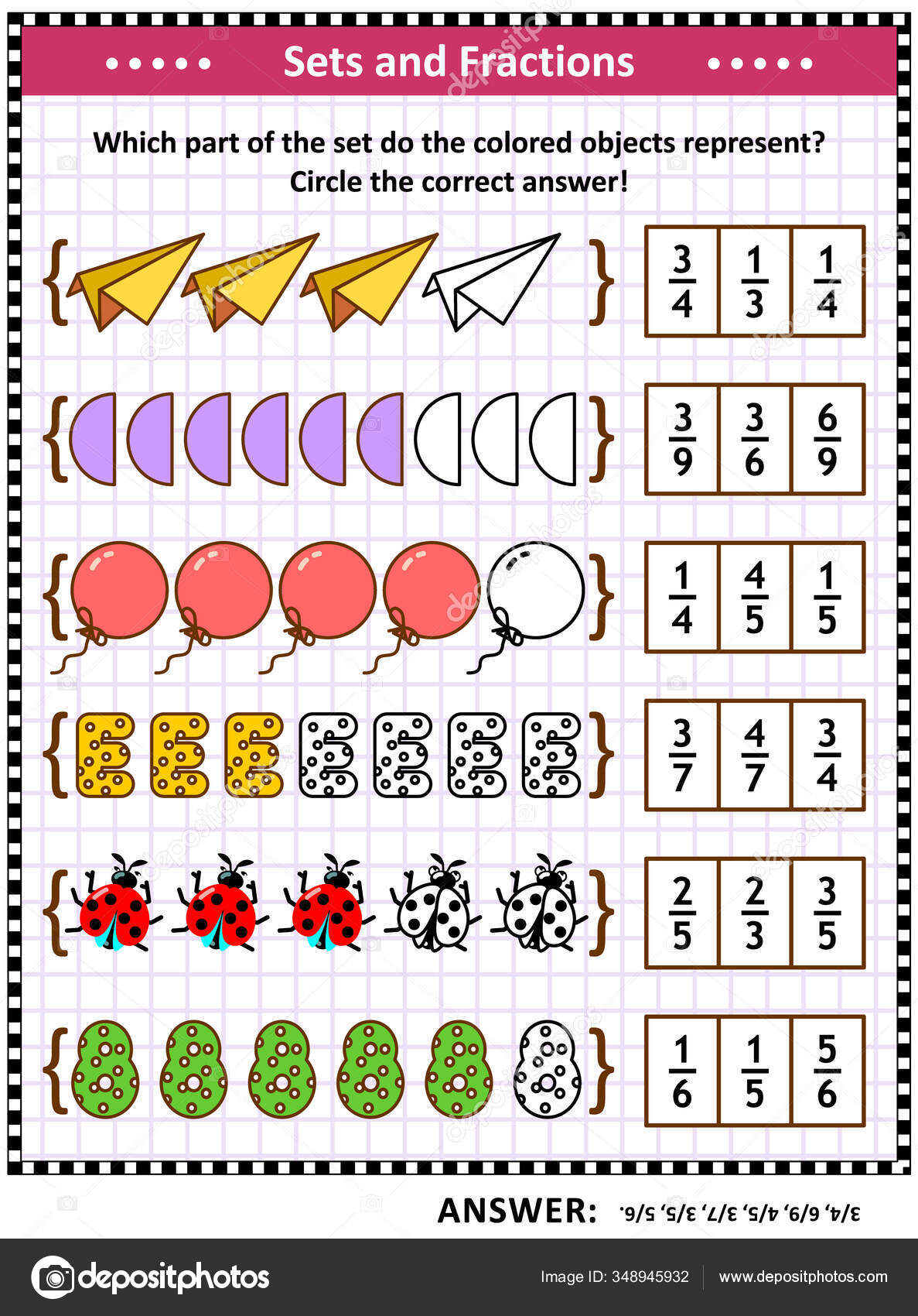 36 Equivalent Fractions Vectors Royalty Free Vector Equivalent Fractions Images Depositphotos [ 1700 x 1187 Pixel ]