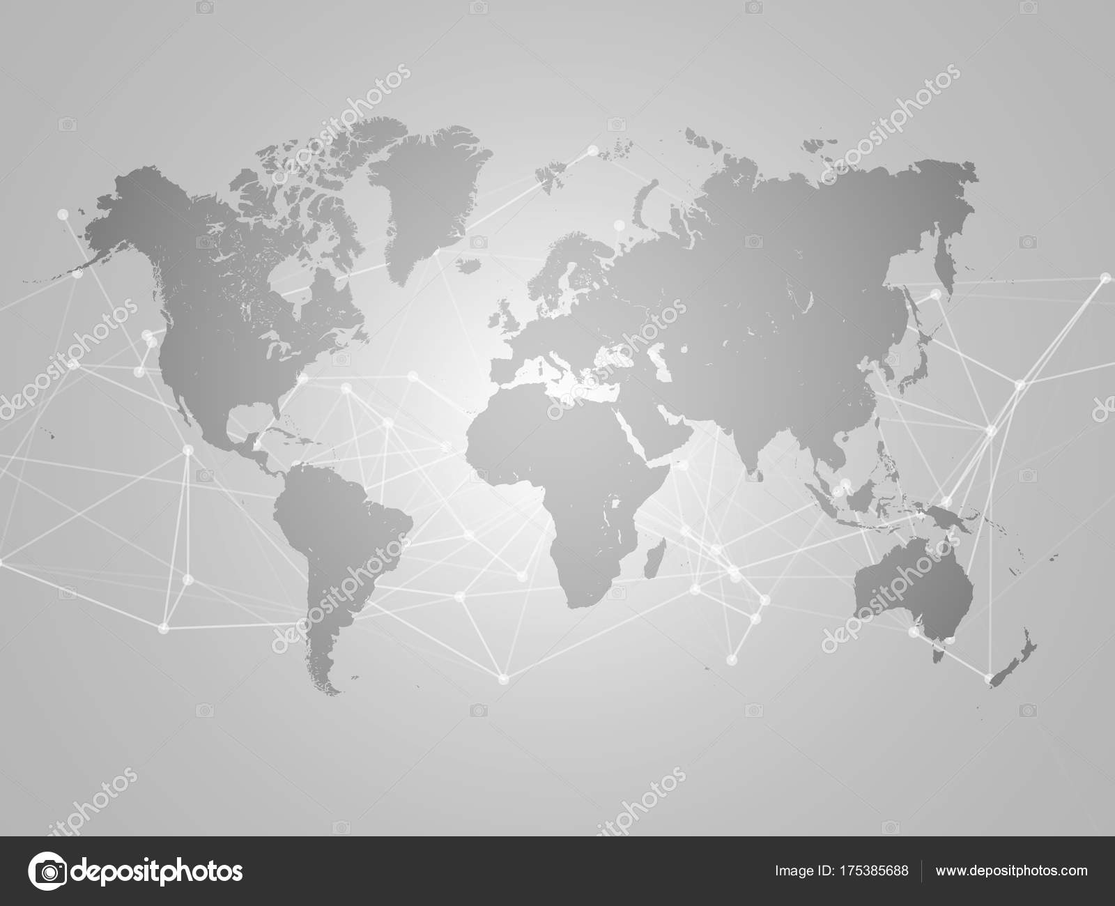World map with abstract network mesh background vector de stock world map with abstract network mesh background vector de stock gumiabroncs Image collections
