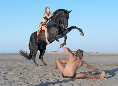 horsewoman and yogi