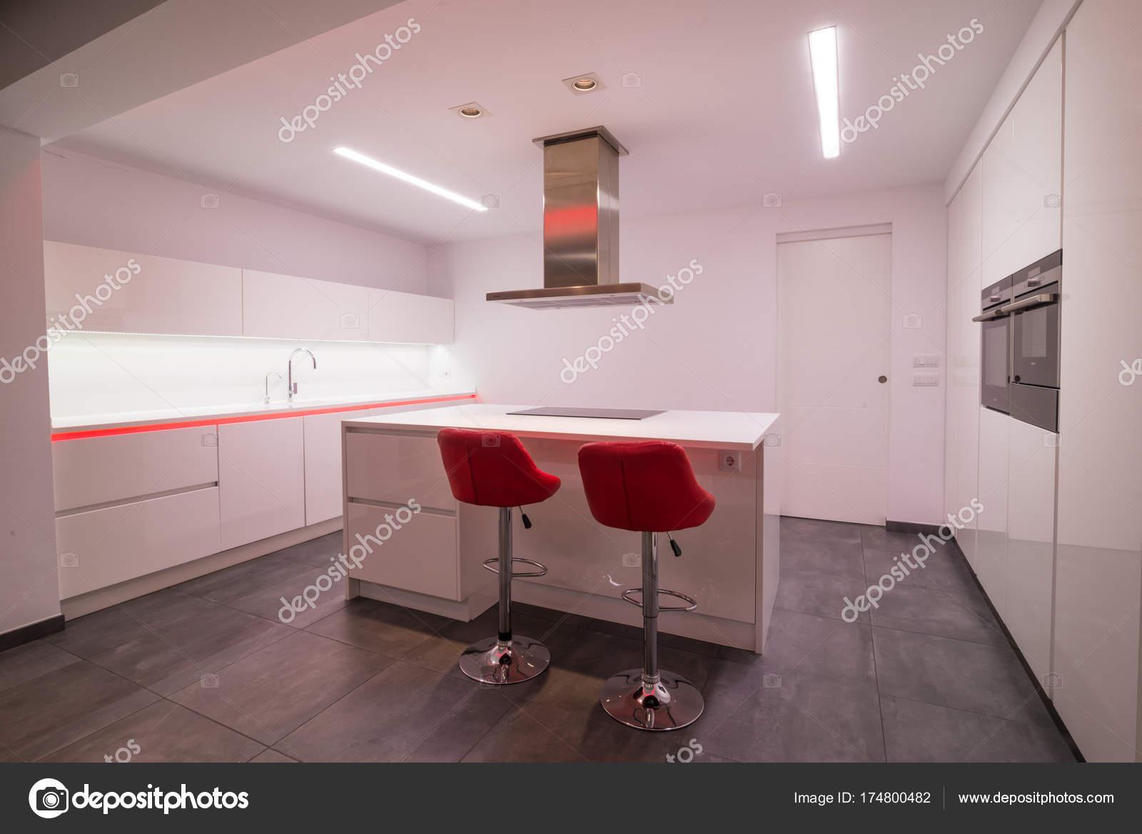 Interior Da Cozinha Moderna Stock Photo Olafspeier 174800482