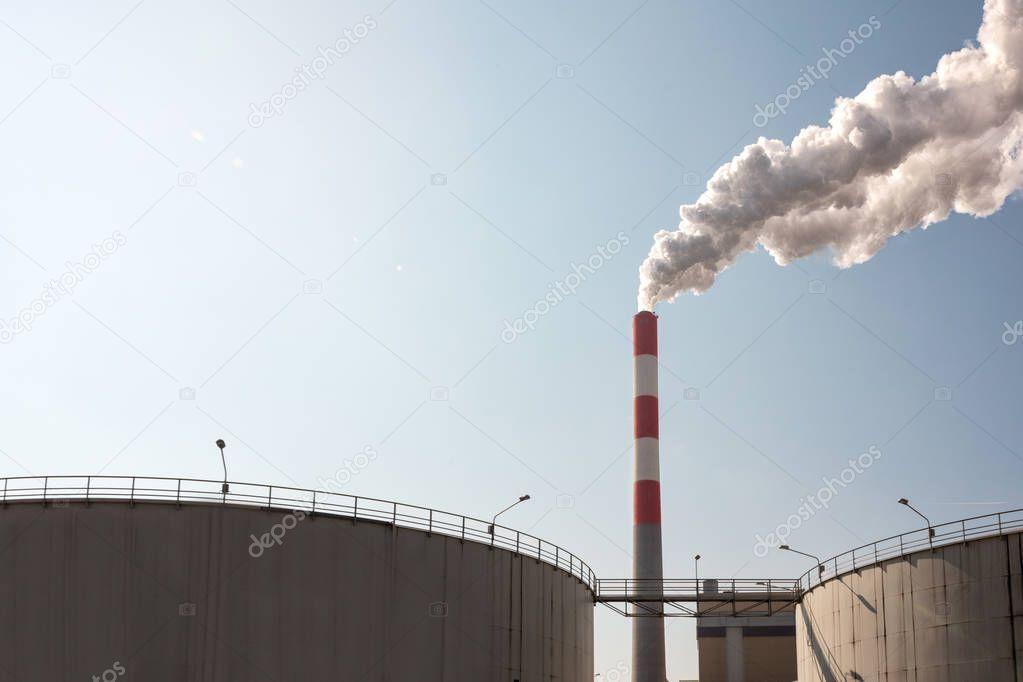 Heavy industrial pollution