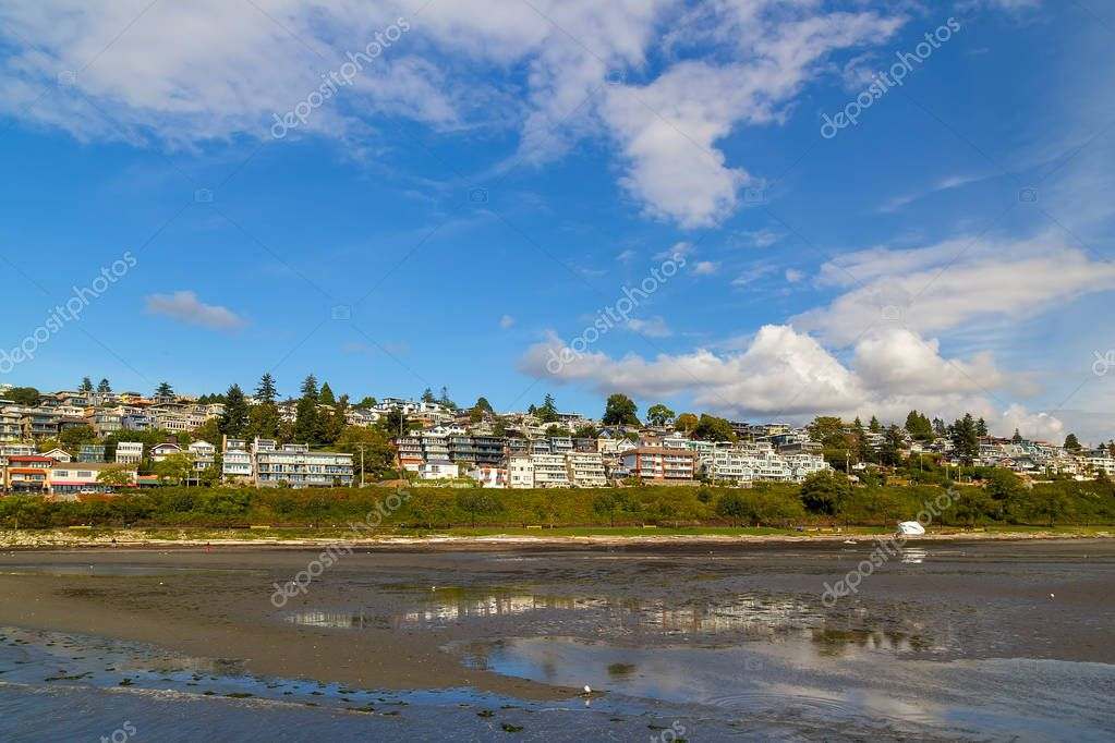 Waterfront Condominiums along White Rock Promenade Canada