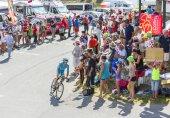 The Cyclist Lieuwe Westra  on Col du Glandon - Tour de France 2015