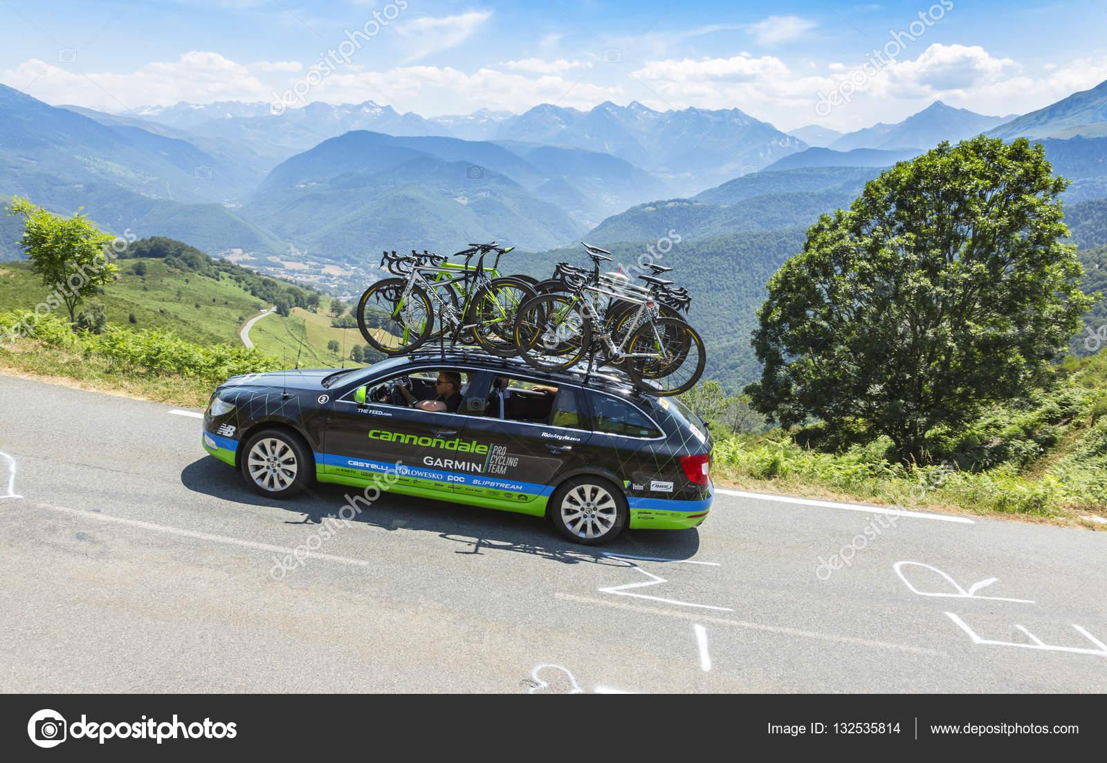 Technische Auto von Cannondale-Garmin-Team - Tour de France 2015 ...