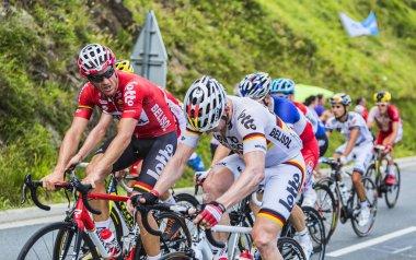 Teamwork - Tour de France 2014