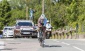 A kerékpáros Axel Domont - kritérium du Dauphine 2017