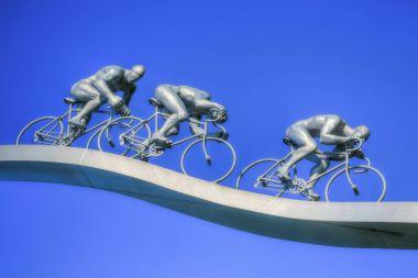 Tour de France in Pyrenees Sculpture