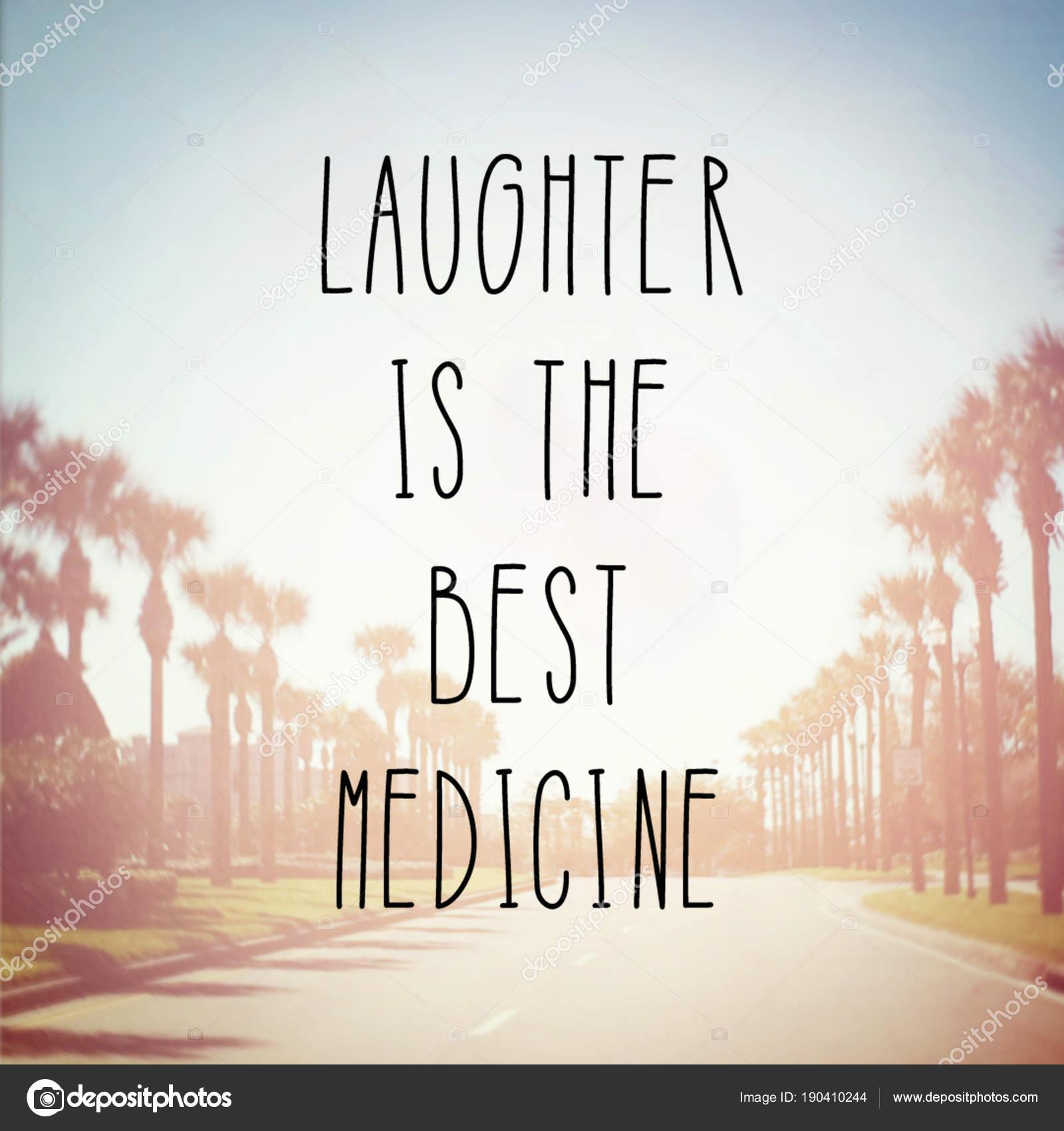 Riso Melhor Frase Motivacional Medicina Stock Photo