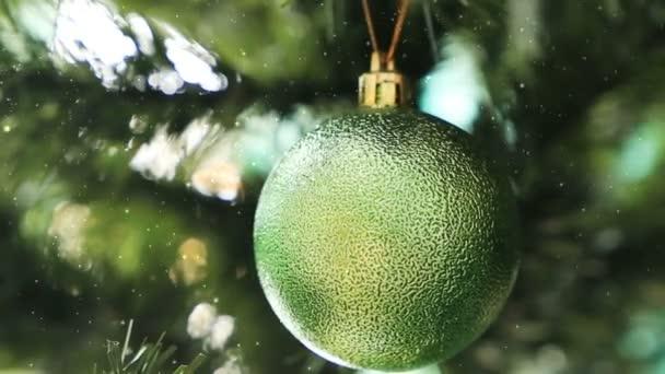 Vintage vánoční stromeček dekorace na vánoční kožešiny-strom