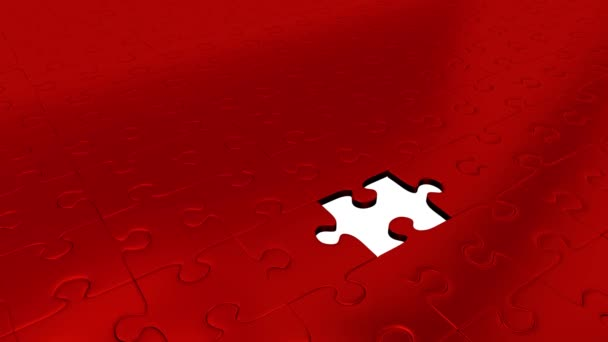 One Green Puzzle Piece transform all other Red Puzzle Pieces into Green