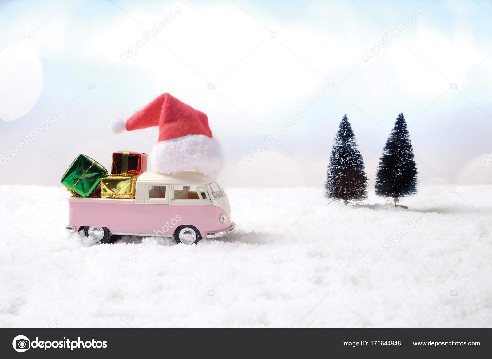 Weihnachten Winter Konzept Geschenk Neujahr Geburtstag Konzept