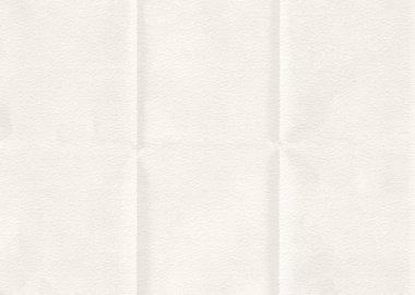 Retro white paper folded texture background