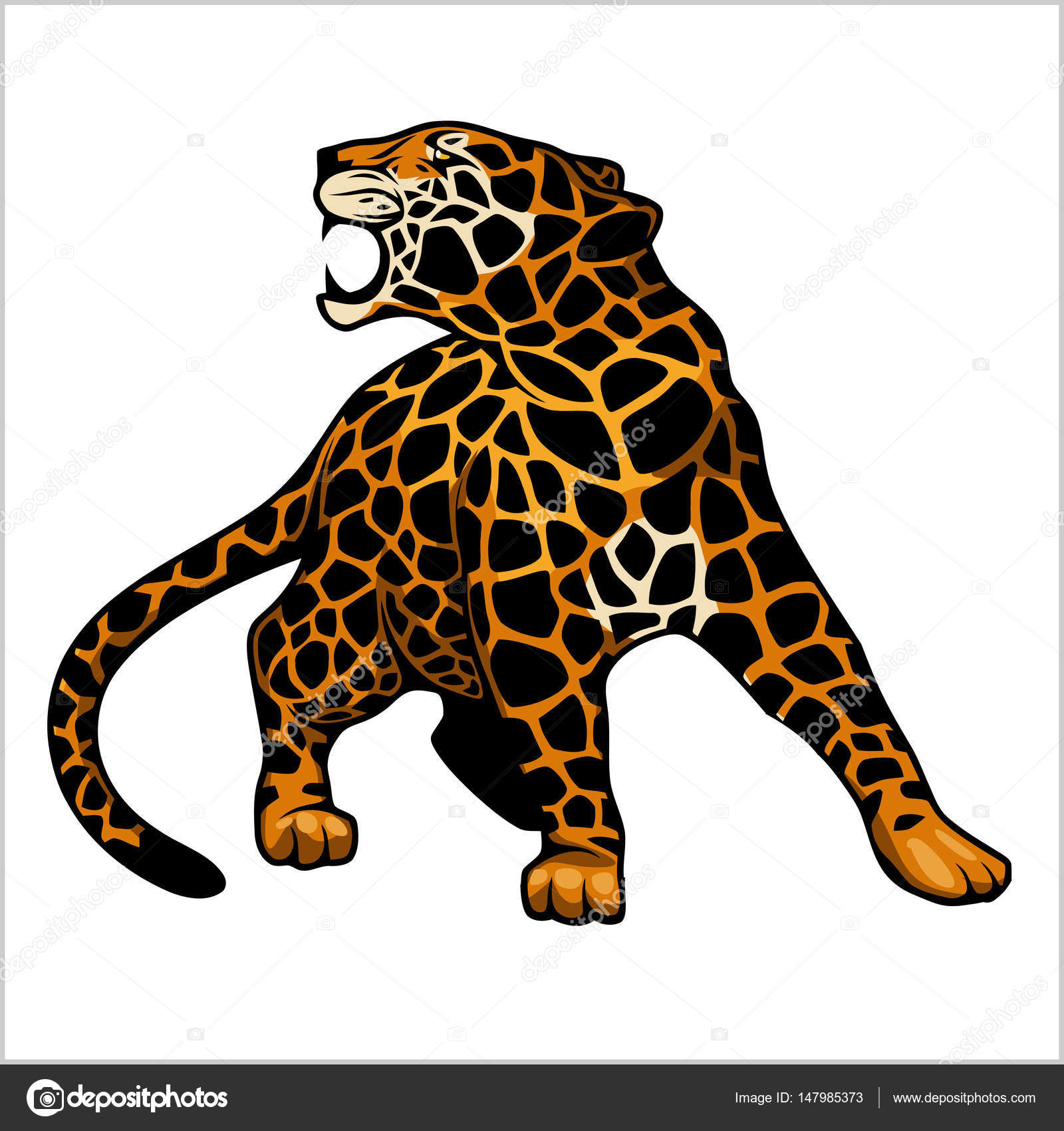 Jaguar logo icon vector character illustration stock vector jaguar logo icon vector character illustration stock vector biocorpaavc Gallery