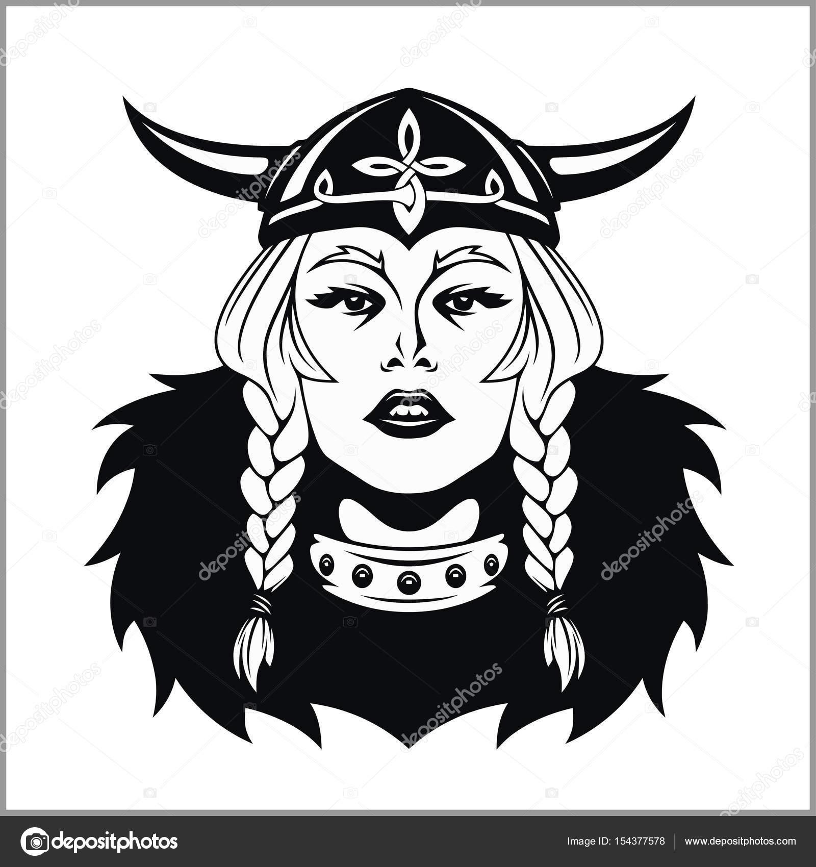 Guerriere Viking Illustration Vectorielle Image Vectorielle
