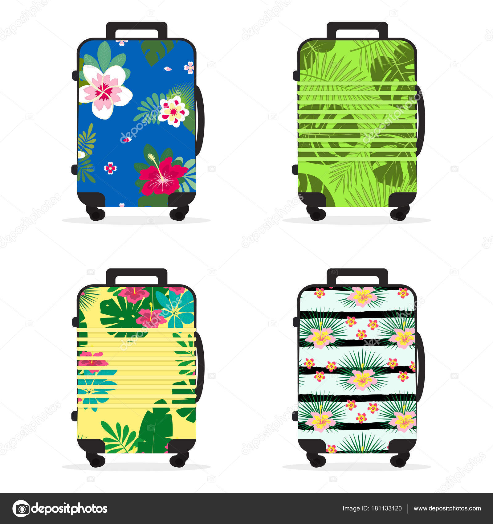 f38ea075c5 Σετ με τσάντα ταξιδιού — Διανυσματικό Αρχείο © Makc76  181133120