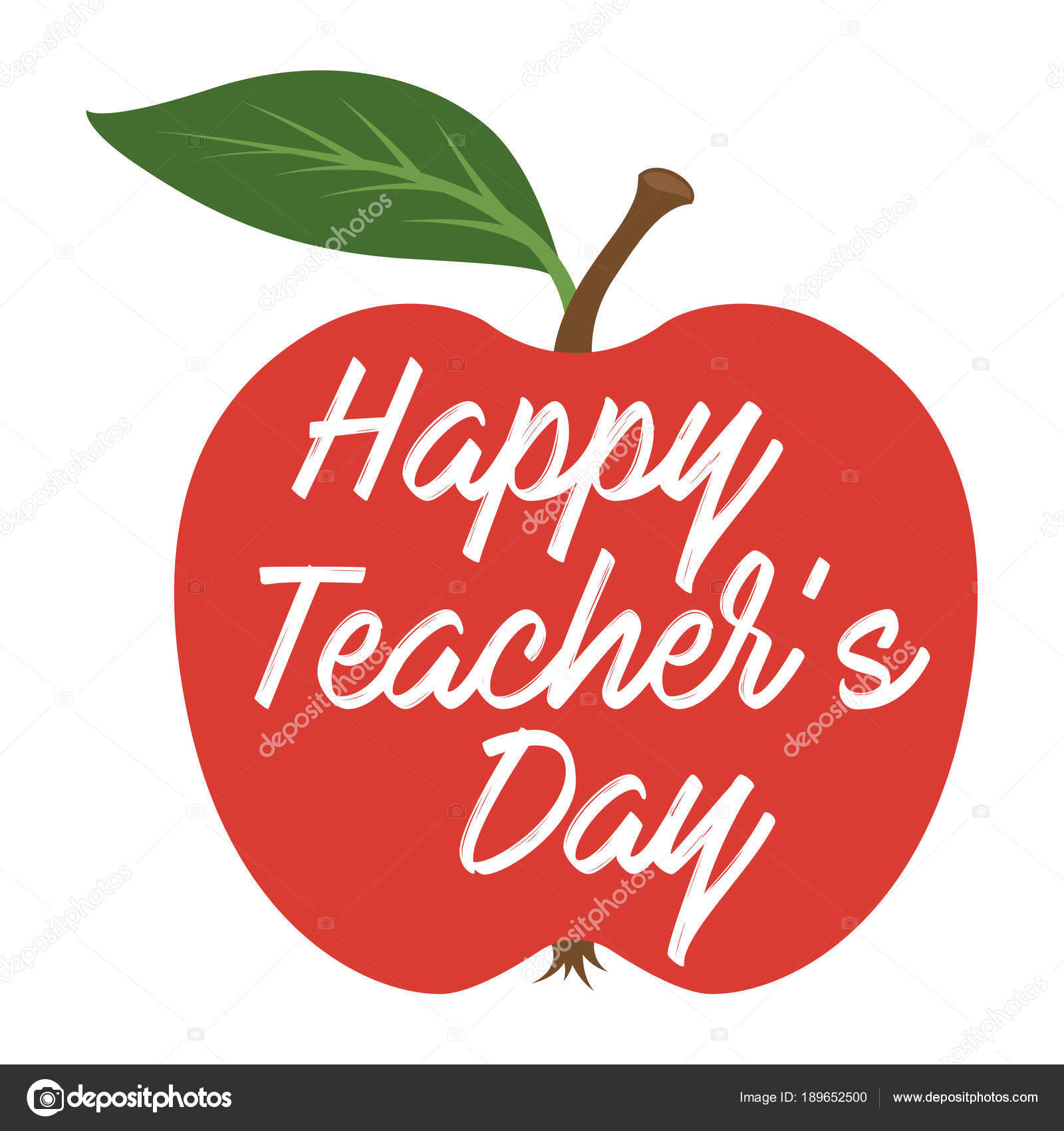 Happy teachers day greeting card stock vector makc76 189652500 happy teachers day greeting card stock vector kristyandbryce Choice Image