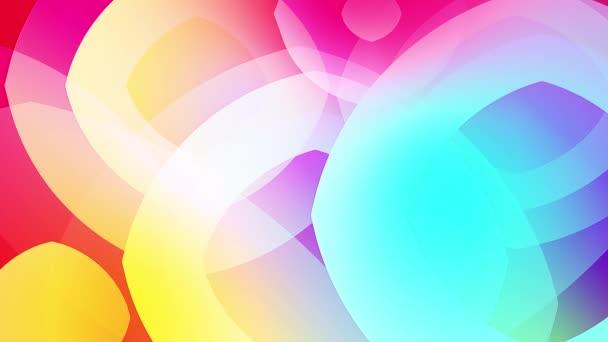 rallentatore di forme colorate