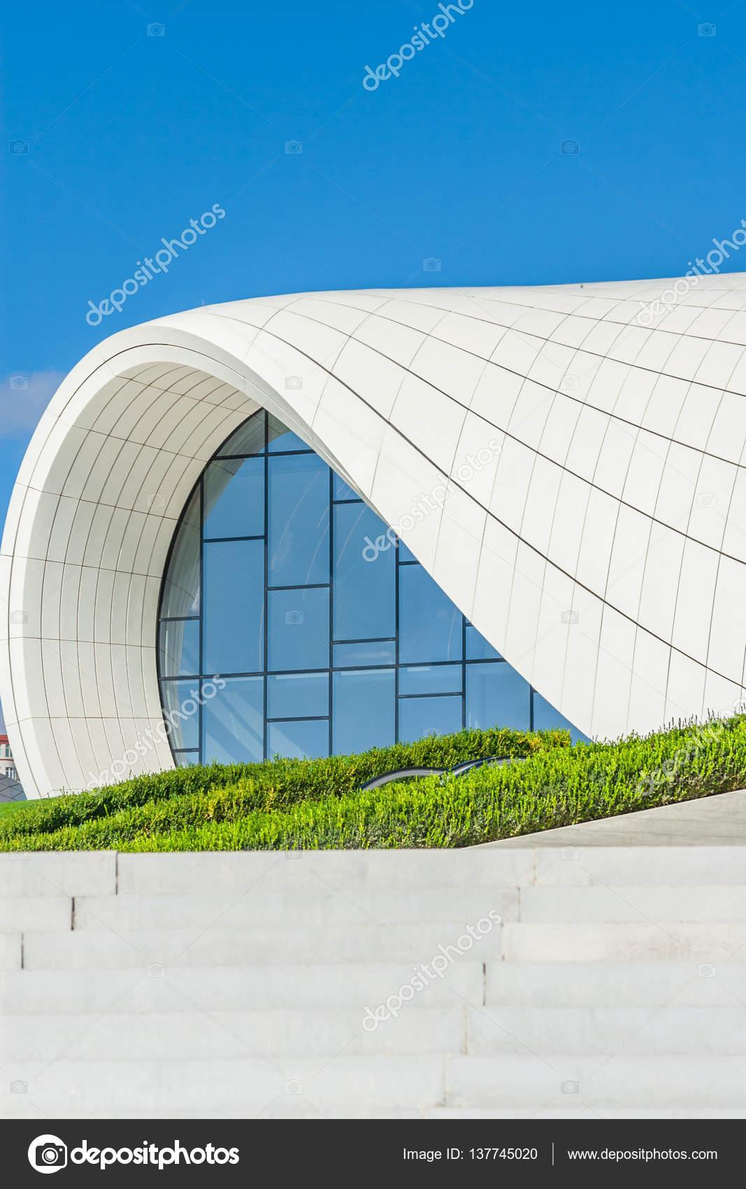 Hejdar Alijew Centrum Muzeum W Baku Azerbejdżan Zdjęcie