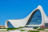Heydar Aliyev Center muzeum v Baku, Ázerbájdžán