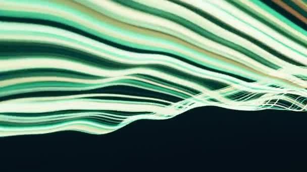 abstract digital footage