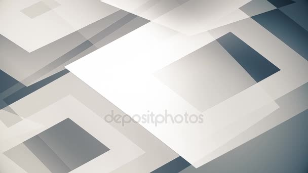 glassy and transparent geometric shapes