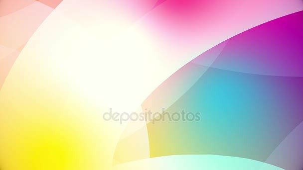 abstrakte farbenfrohe riesige Formen