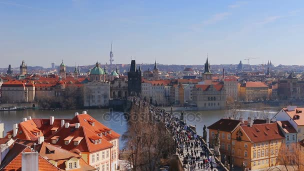 Karlův most přes řeku Vltavu