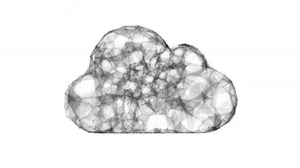 Cloud computing z chaoticky propojených bodů