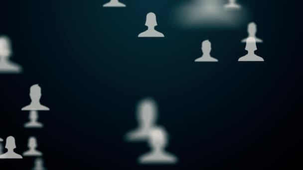 spojení mezi věcmi a uživatelé