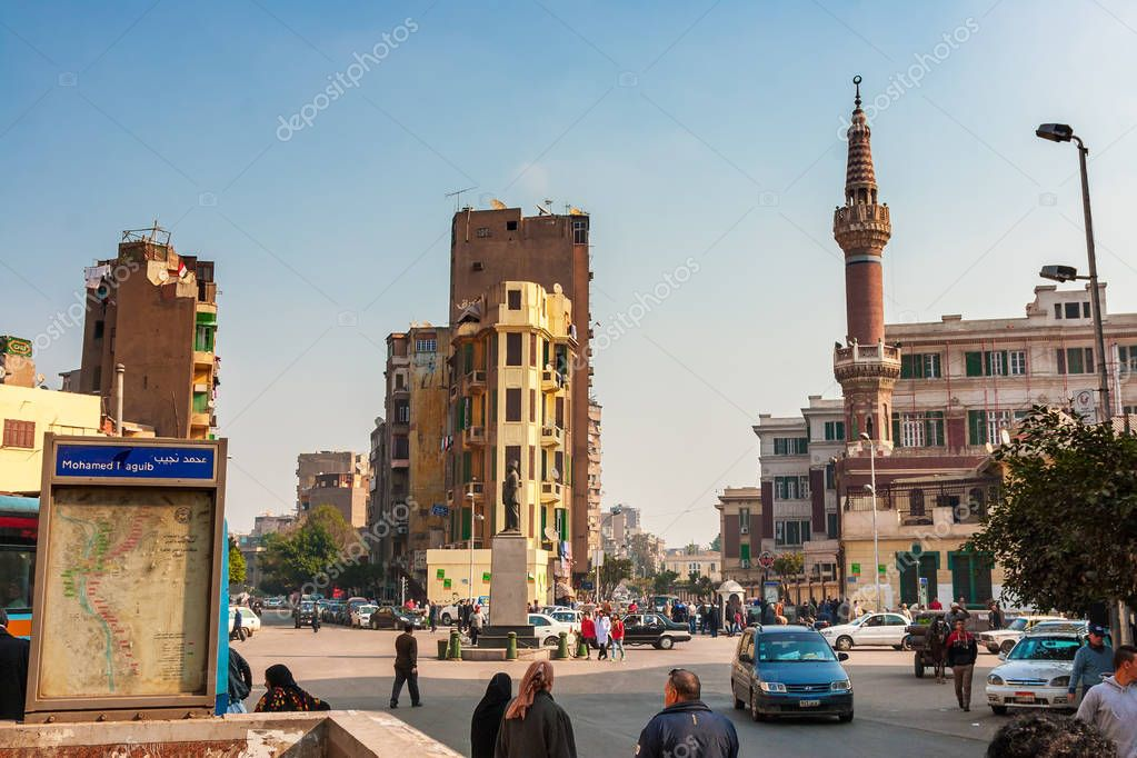 Cairo after the revolution of the Muslim Brotherhood
