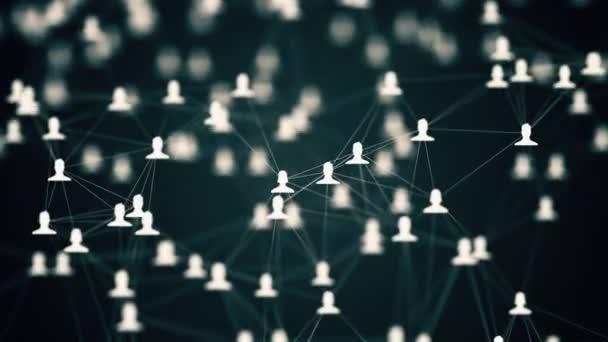 Soziales Netzwerk-animation