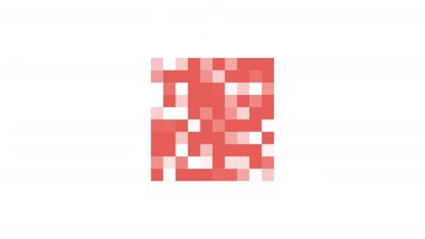 červená mozaika náměstí
