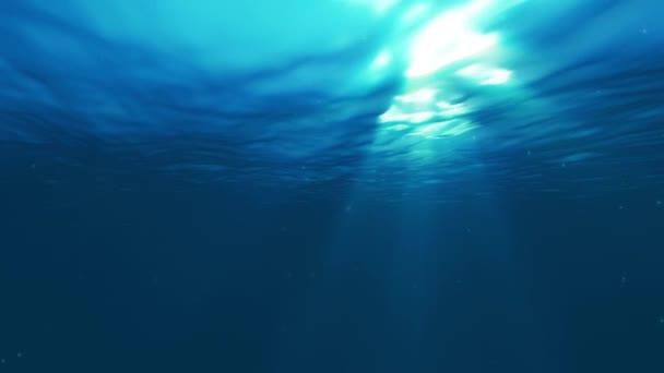 světlo pod vodou 4k animaci