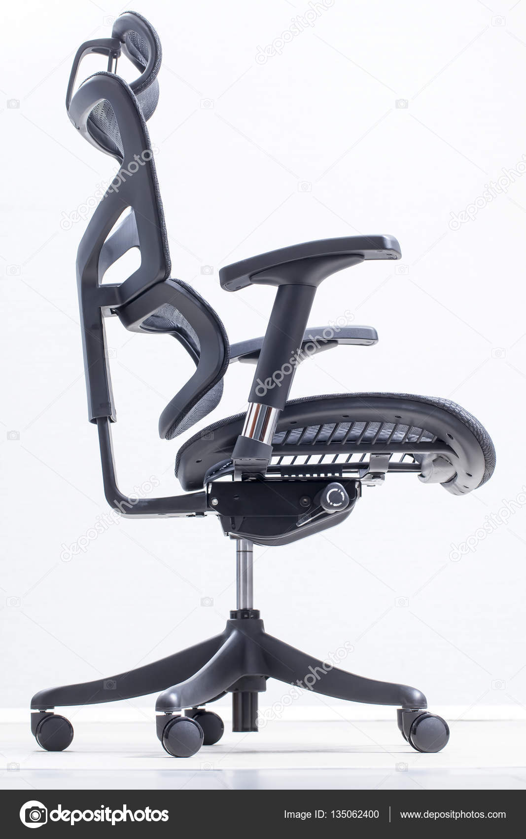 Sitio De Trabajo De Computadora Ergon Mica Silla Ortop Dica Foto  # Muebles Ergonomicos Para Computadora