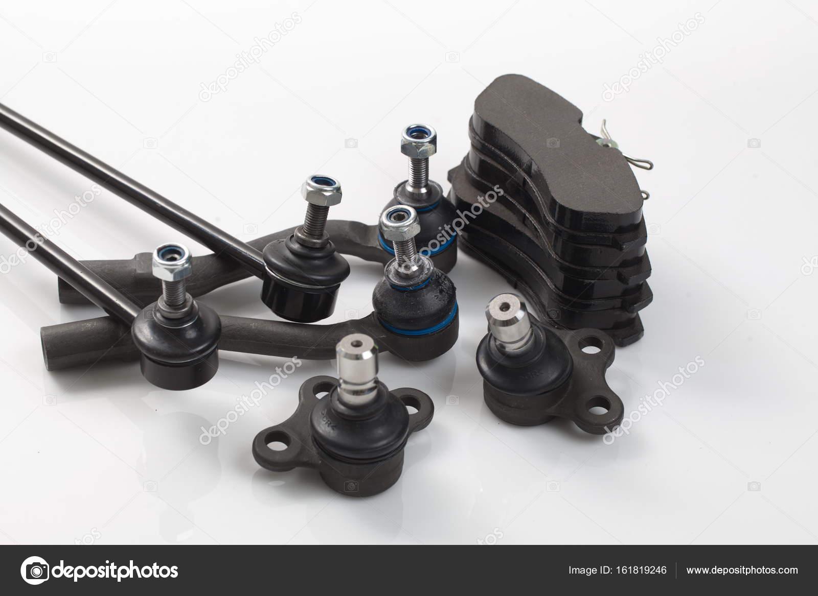 Auto Fahrwerk Teile neues Detail Kit set — Stockfoto © OlegMalyshev ...