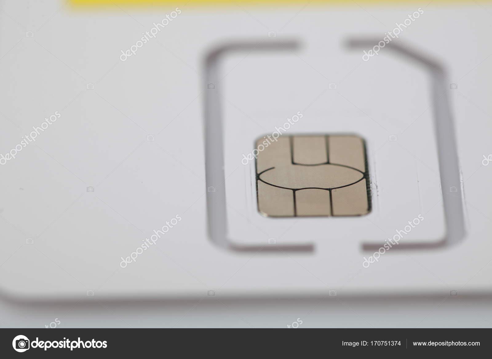 Neue Sim Karte.Neue Sim Karte Format Nano Mikro Und Standard Stockfoto