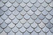Textura střešní břidlice v Norsku
