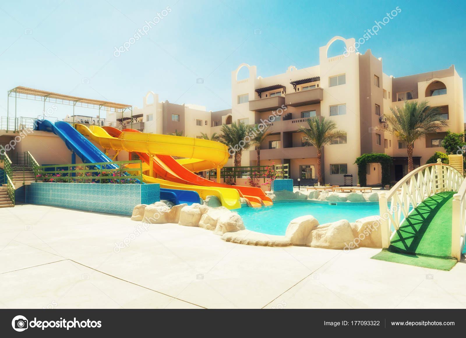 Schwimmbad Im Hotel Hurghada Stadt In Agypten Stockfoto