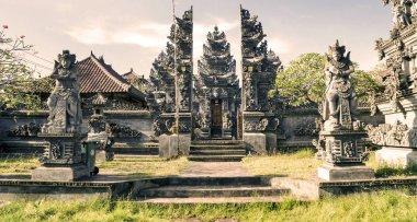 Balinese temple on Bali island