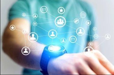 Concept of business international network interface - Technology