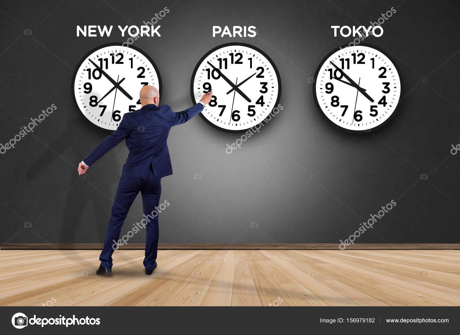 Diverso País Empresario Relojes — Foto Con Perig76 De © Stock m8wNn0v